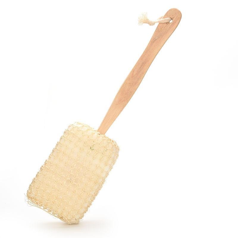Buy Velishy Body Back Brush Natural Sisalf for Shower - intl Singapore