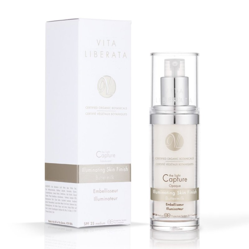 Buy Vita Liberata Illuminating Skin Finish - Buttermilk SPF 25 medium 30ml Singapore