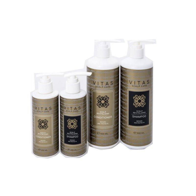 Buy Vitas Pro Scalp Revitalizing Shampoo & Conditioner - 500ml + 200ml Singapore