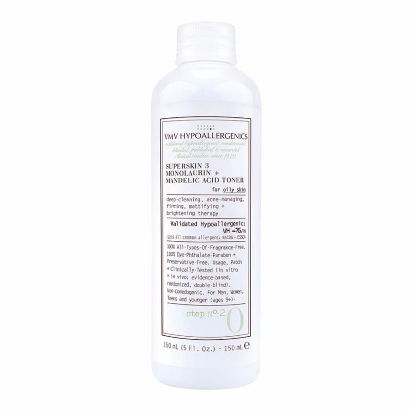 Buy VMV Hypoallergenics SuperSkin 3 Monolaurin+Mandelic Acid Toner 150ml Singapore