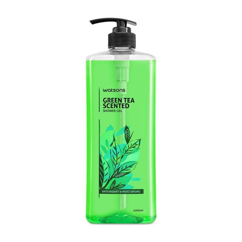 Buy Watsons Green Tea Scented Shower Gel 1L Singapore