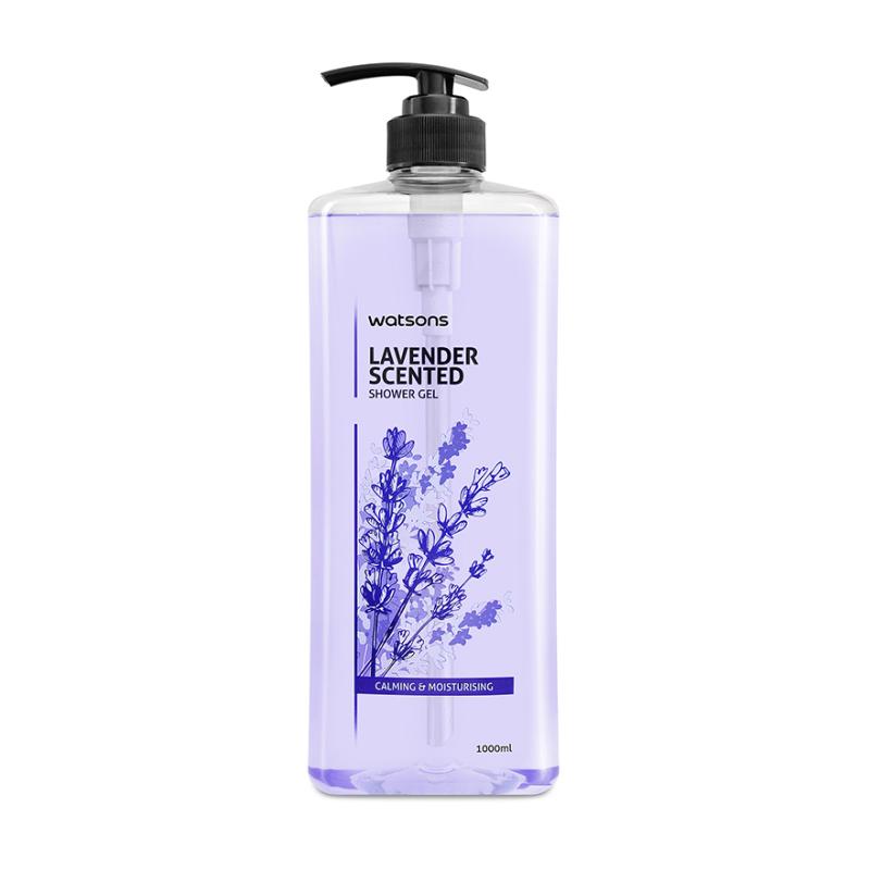 Buy Watsons Lavender Scented Shower Gel 1L Singapore