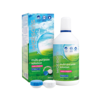 Harga Watsons Multi-Purpose Solution 360ml