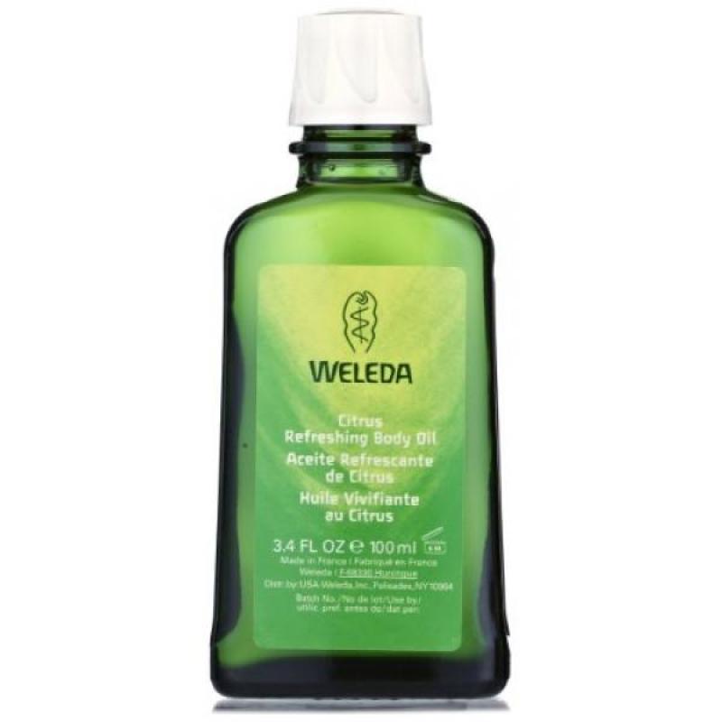 Buy Weleda Citrus Refreshing Body Oil, 3.4-Fluid Ounce Singapore
