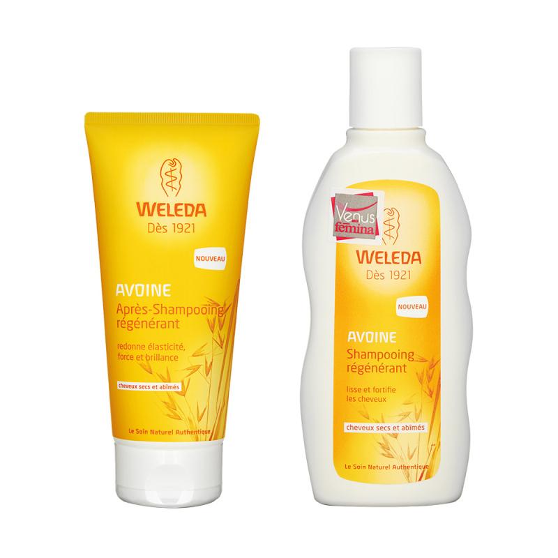 Buy Weleda Oat Regenerating Shampoo + Oat Replenishing Conditioner (1 set, 2 pcs) Singapore