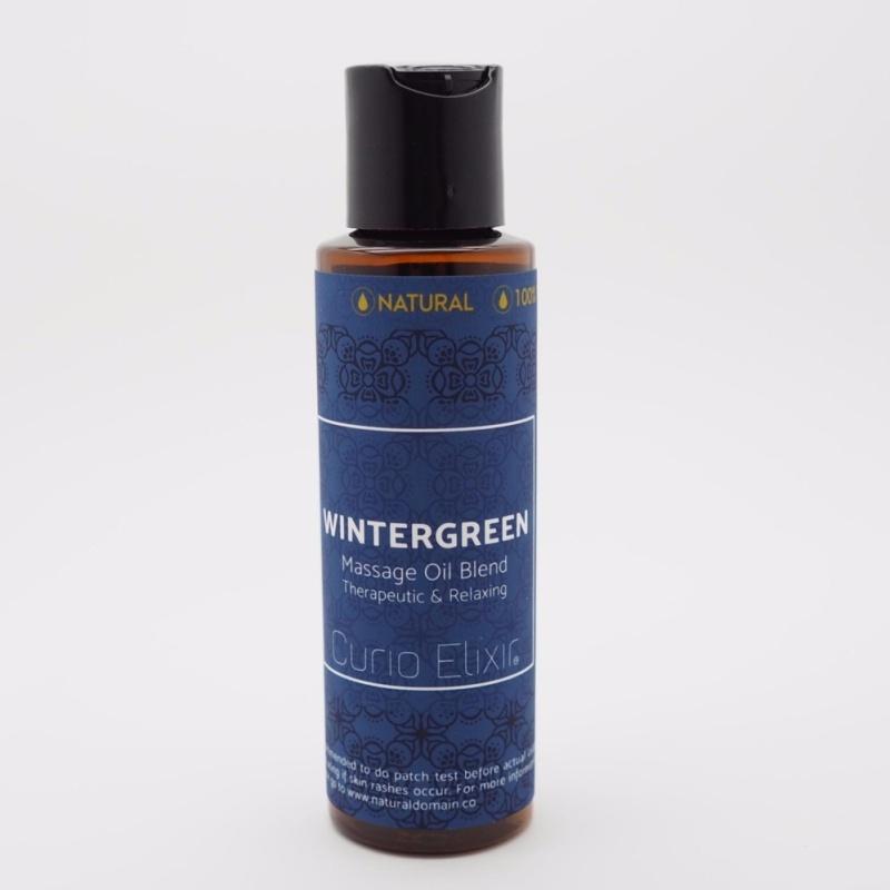Buy Wintergreen Aromatherapy Massage Oil Blend 116ml Singapore