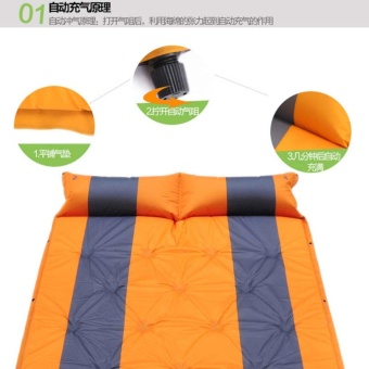 2 Person Automatic Inflatable Air mattresses - intl - 3