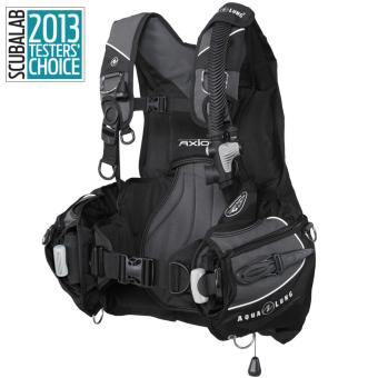 Buoyancy Compensator, Axiom, Black/Charcoal SM