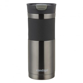 Contigo Snapseal(TM) Byron Stainless Steel Travel Mug 20oz (Gunmetal)