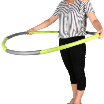 Detachable Sponge Massage Hula Hoop Fitness Bodybuilding HoopHula-hoop