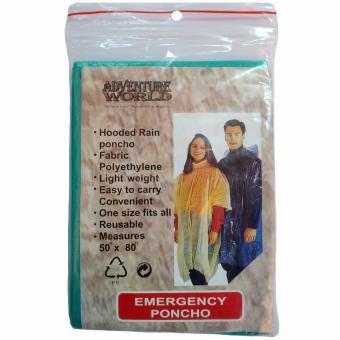 Emergency Poncho / Disposable Poncho - 2