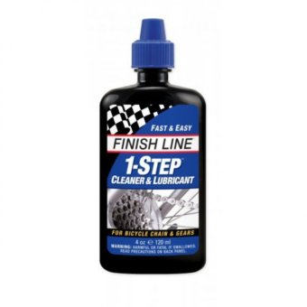 Finish Line 1-Step Bike Bicycle Cleaner & Lubricant 4 oz