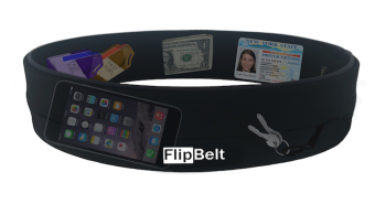 Harga FlipBelt Running and Travel Waist Belt (Black). Made in USA.