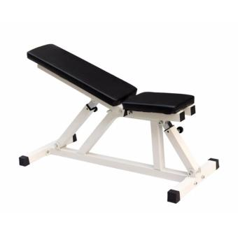 Gym Workout Bench - White Bench