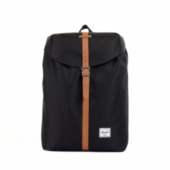 HERSCHEL POST BACKPACK MID-VOLUME - BLACK/TAN