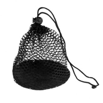 Harga MagiDeal Nylon Mesh Nets Bag Pouch Golf Tennis Ball 25 Balls Carrying Holder Storage - intl