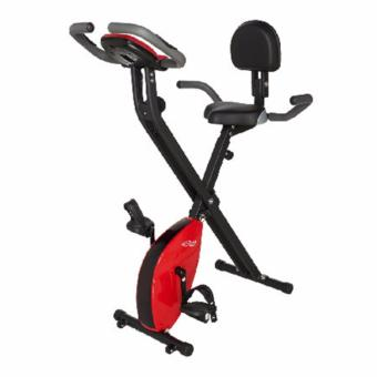 Harga Bicycle Exercise Red X2E Ehance Gym bike Bicycle Heartrate (foldable),Delivery-weekdays before 6pm