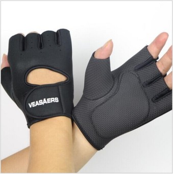 2015 gym body building training fitness gloves sports weight