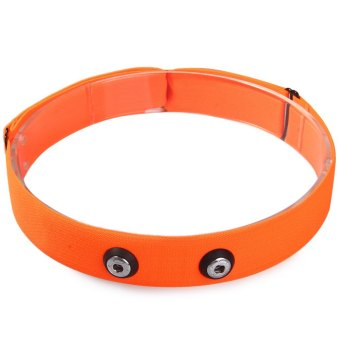 Harga Chest Belt Strap Band Running Fitness Exercise for Garmin Wahoo Polar (ORANGE)