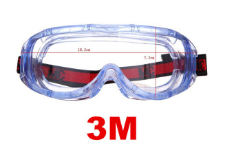 3M Anti-fog Safety Glasses Wind Dust Scratch-Resistant Protective Goggles