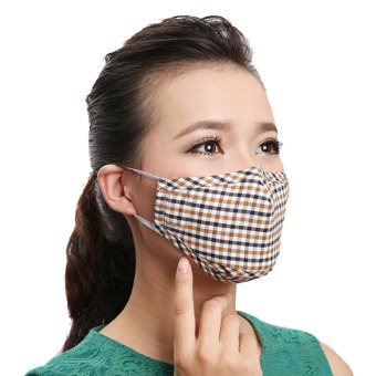 Harga Dust Mask,3-Pack Unisex Ladies Women Men Winter Cotton PM2.5 Guaze Mask Dustproof Antibacterial Face Mask Dust Masks Mouth Mask Ski Cold Mouth Warm Mask - intl