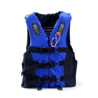 Harga (Size-S)Professional Life Jacket Youth Kids Outdoor Beach Swimming Boating Safety Ski Vest for Children - intl