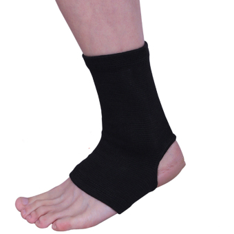 Harga Utility Adault Black Ankle Supports Trendy Wraps 1Pairs - intl