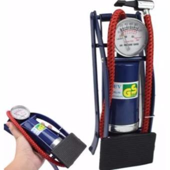 Portable Foot Operated Cylinder Tire Air Pump Inflator