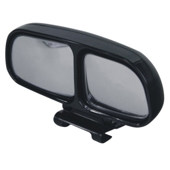 Harga SUNSKY Left Side Rear View Blind Spot Mirror Universal adjustable Wide Angle Auxiliary Mirror(Black)