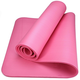 Harga 183 x 61 x 1cm NBR Multifunction Anti-skid Yoga Mat Nonslip Gym Pilate - intl