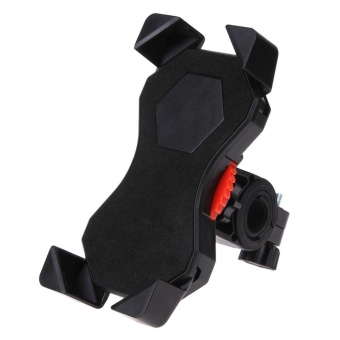 Harga Universal Eagle Claw Design Bicycle Bike Cycling Handlebar Cell Phone Mount (Black) - intl