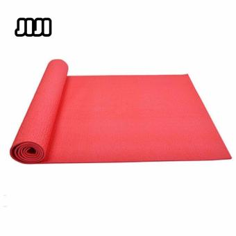 Harga JIJI 6MM All-Purpose Health and Fitness Premium PVC Yoga Mat 6mm Thick for Exercise Yoga and Pilates