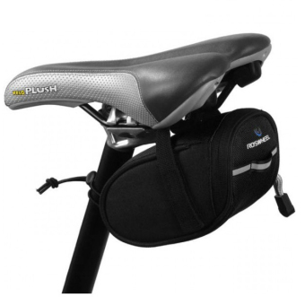 Harga LoveSport Cycling Bicycle Bike Saddle Pouch Seat Frame Tail Bag Waterproof (Black)