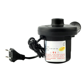 Yika FC AC Electric Air Pump Inflate Deflate For Toys Bed Compression Bag Mattress (Black) Price in Singapore
