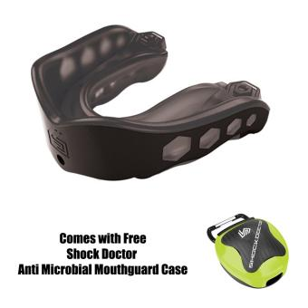 Harga Shock Doctor Gel Max 6113A Adult Mouthguard (Black)