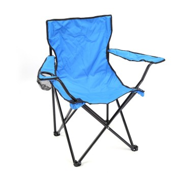 Lifine Blue Portable Folding Camping Travel Picnic Arm Chair - Int'l