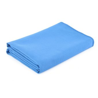 Harga GOOD OUTAD Fast-Drying Towel Microfiber Towel Sports Travel Towel Sky Blue(Export)