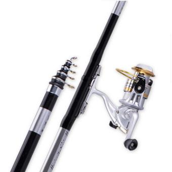 Harga Handing rods of ultralight superhard carbon rod fishing rod pole HaiGan Ji special offer Los Angeles bar fishing sea rod set - intl