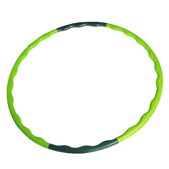 Andux Removable Hula Hoop Slim Massage Abdominal Exercise Fitness HLQ-01 Green