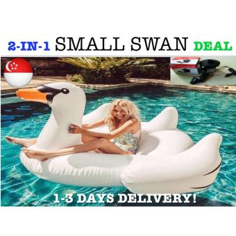 Harga *PACKAGE DEAL*Small Swan Float Swimming Float Giant Float