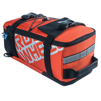 Harga LoveSport Roswheel 5L Cycling Bike Rear Seat Rack Trunk Pannier Shoulder Bag (Orange)