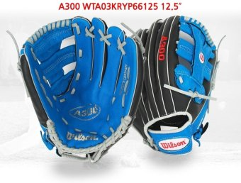 Harga Wilson MLB Professional Baseball A16 All Round Glove A300 WTA03KRYP66125 12.5 inches for Right Hand Pitchers + 1 x Baseball set