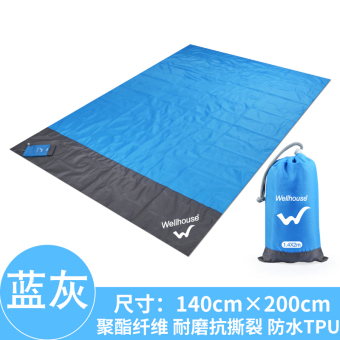 Harga Outdoor waterproof moisture-proof picnic mat Wear-Resistant mat moisture-proof cloth camping tent pad barbecue picnic outdoor equipment