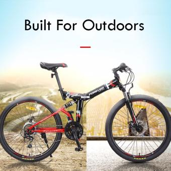 Harga *Fast Delivery* Forever Folding Mountain Bicycle | Best Quality Foldable Mountain Bike