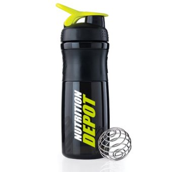 Harga Nutrition Depot Shaker Bottle With Spring Ball