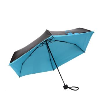 Harga Quality Mini Pocket Umbrella, Women Sunny and Rainy Mini Fashion Folding Umbrellas Blue - intl