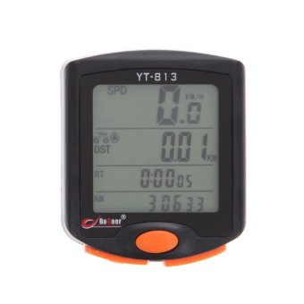 Cycling Bike 24 functions LCD Computer Odometer Speedometer Backlight - intl