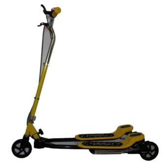 Harga Frog Kick Scooter 10 Years Old to Adult Max.Load 105KG Foldable (Yellow)