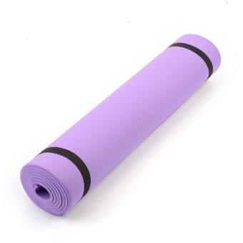 Harga 6mm Thick Yoga Mat Non-Slip Body Building Exercise Gym Fitness Home Indoor