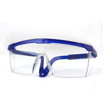 LALANG Goggles NERF Telescoping Temples Grinding Dust Anti-Impact Protection Goggles Labor (Blue) - Intl